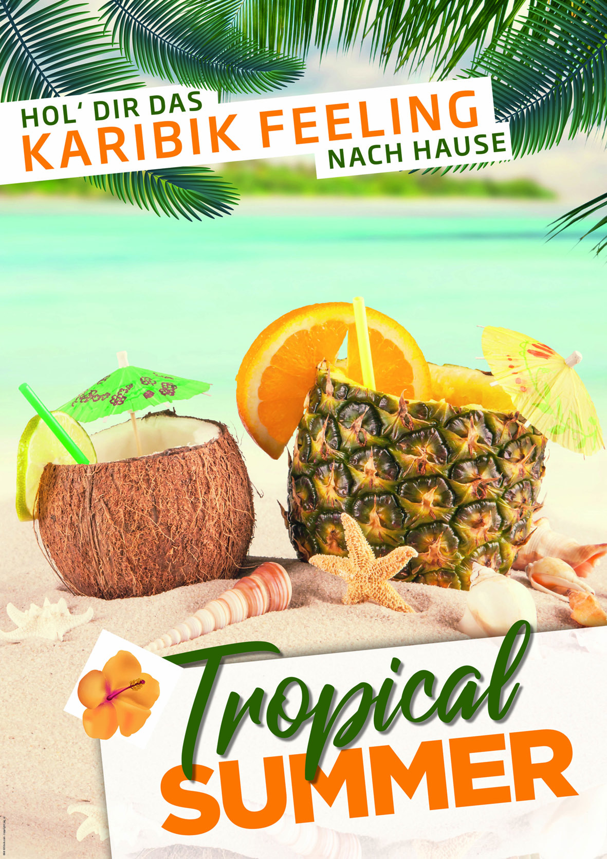 "<b>Themenplakat Juli 2018</b><br />""Tropical Summer"""